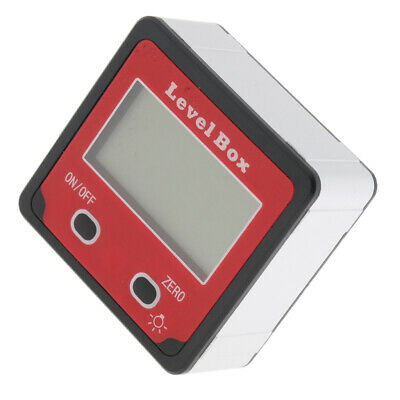Digital Level Box Angle Gauge Meter Protractor with Magnet Base