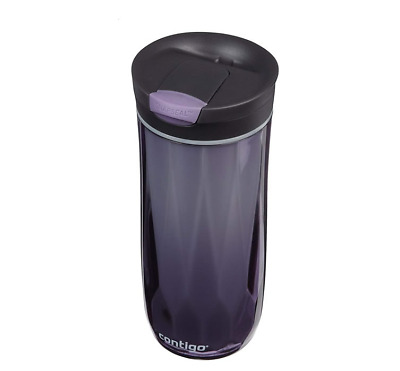 Wholesale Contigo Byron Snapseal Travel Mug Water Bottle Violet 16 Oz  4 Pack