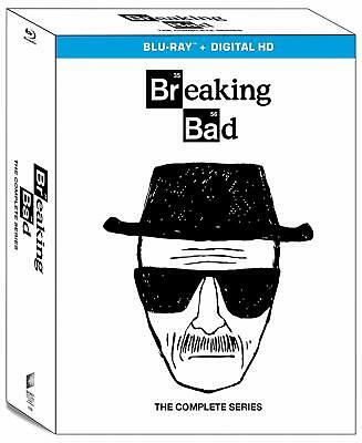 Breaking Bad: The Complete Series (16 Discs) [Blu-ray + Digital] NEW
