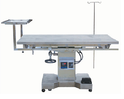 New Veterinary Surgical Operating Table DH68 Electric Lift Control Temp Tilt Top