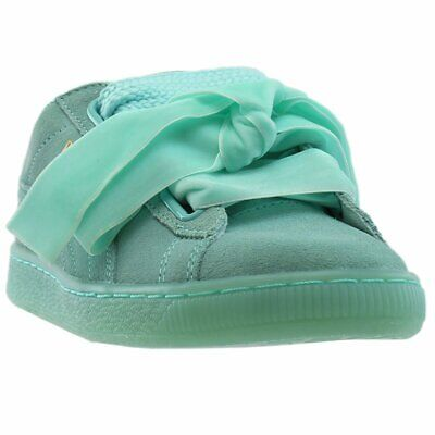 new products c70a6 f127d PUMA SUEDE HEART Reset Sneakers - Blue - Womens