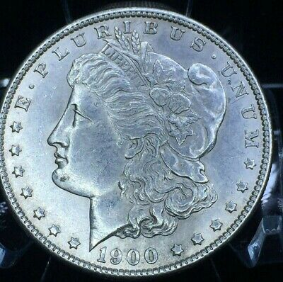 1900 Morgan 90% Silver Dollar High Luster, Eye Appeal Gem MS Nice Coin