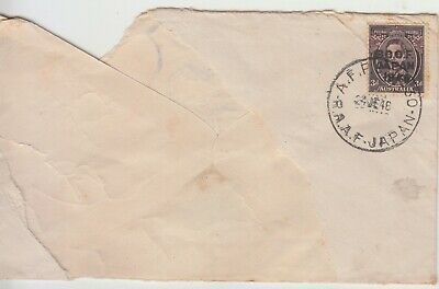 AUSTRALIA. 1948 3d George V1 BCOF  OVPT  Partly Missing..BACKSTAMPS