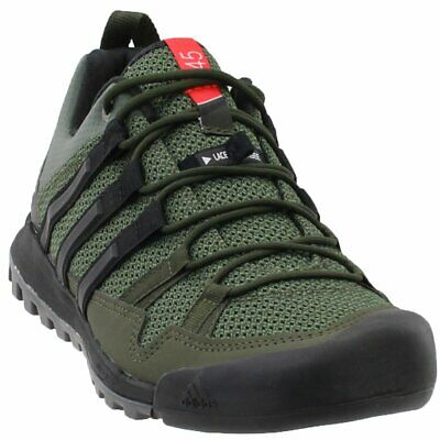 nouveau concept 37003 c9ba1 ADIDAS TERREX SOLO Hiking Shoes - Black - Mens