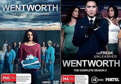 Wentworth SEASON 1 - 2 : NEW DVD