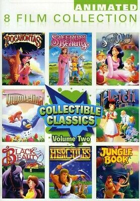 Collectible Classics: Animated 8 Film Collection, Vol. 2 [2 D (REGION 1 DVD New)