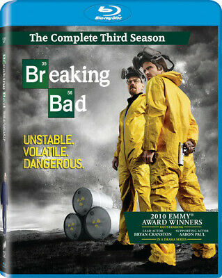 Breaking Bad: The Complete Third Season [3 Dis (REGION A Blu-ray New) BLU-RAY/WS