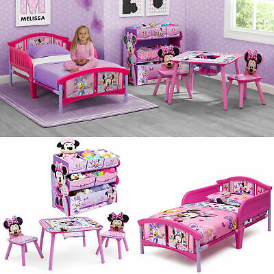 BEDROOM TODDLER BED Set Table and Chairs Set w/ BONUS Toy ...