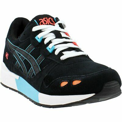 665b8161eb ASICS GEL-LYTE V Black Lace Up Mens Low Top Gym Sports Trainers ...