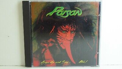 Vintage Cd -Poison -Open Up And Say Ahh Liberation Enigma Records Australia 1988