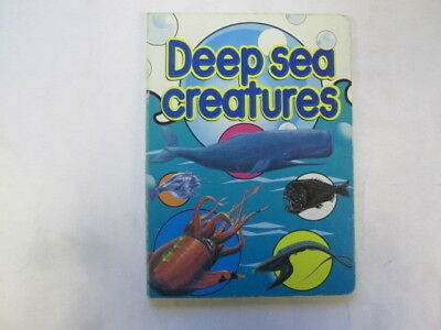 Acceptable - Deep Sea Creatures - Moira Butterfield 1997-01-01   Zigzag