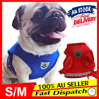 Pet Reflective Strap Vest Walking Harness and Cat for Small Dog Lead Adjustable