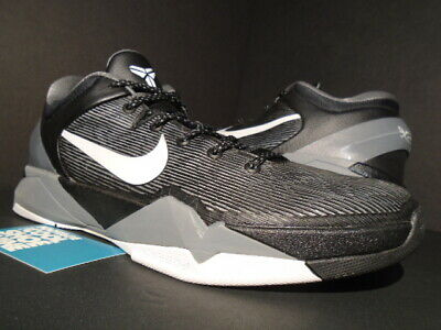 finest selection afbc2 4809c Nike Zoom Kobe Vii 7 Black White Wolf Cool Grey What The Mvp 488371-001