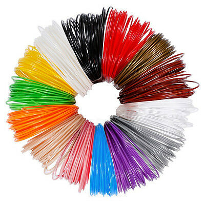 175mm Modeling 3D ABS PLA Print Ink Filament For 3D Drawing Printer Pen FAST