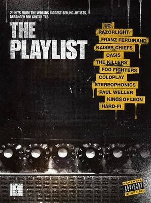 Rrp $49.99* The Playlist Guitar Tab Song Book 21 Songs