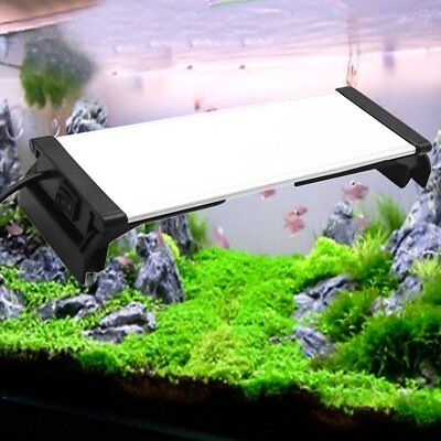 BEST 60cm 2835SMD LED Aquarium Light Fish Tank Lamp with Extendable Bracket