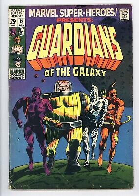 Marvel Super-Heroes #18 Vol 1 Very Nice Mid Grade 1st Guardians of the Galaxy