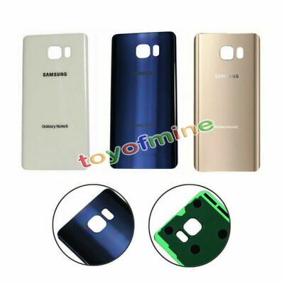 Replacement Housing Back Battery Glass Case Cover for Samsung Galaxy Note 5