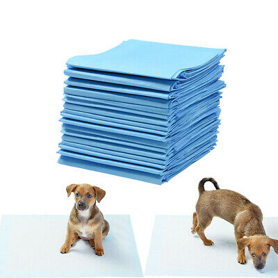 100PCS Indoor Dog Puppy Toilet Pet Housebreaking Mat Pee Training Pads Underpads