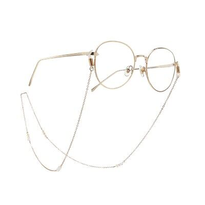 2019 Crystal Beads Eyeglass Cord Reading Glasses Eyewear Spectacles Chain Holder