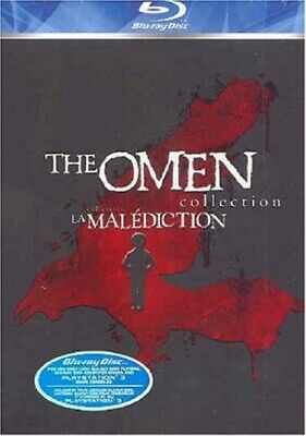 The Omen Collection 1 2 3 (Lee Grant) One Two Three Region A Blu-ray