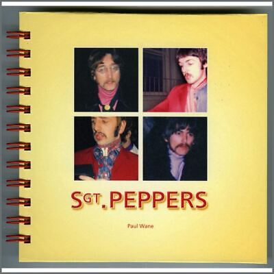 The Beatles Sgt. Peppers 1967 Snapshots Book By Paul Wane