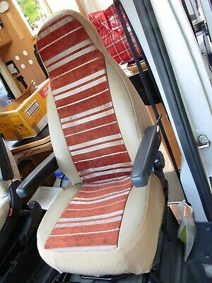 To Fit A Fiat Ducato Motorhome, Front Seat Covers, Hilda Mh-217