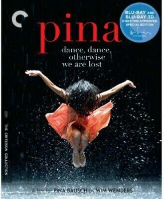 Pina [Criterion Collection] [2 Discs] [Blu-ray/DVD] [3D] (REGION A Blu-ray New)