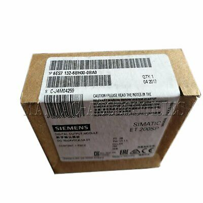 1PC NEW BOX Siemens 6ES7131-6BH01-0BA0 ET200S digital input module Free shipping
