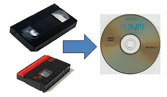 Mini DV / VHS to DVD transfer service