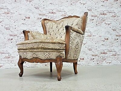 CHIPPENDALE BAROCK SESSEL lounge chair Landhaus Shabby Chic ...