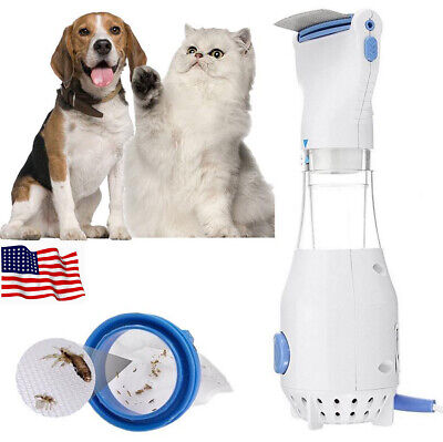 Electric Lice zapper Electronic Head Nit Pro V-comb Kills Pet Headlice US Plug