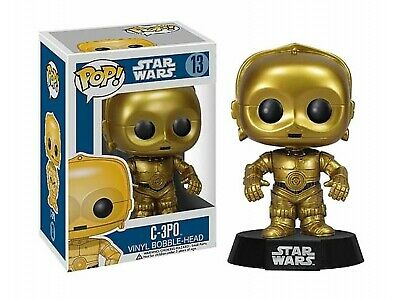 Figurine - Pop! Movies - Star Wars - C-3PO - Vinyl Figure - Funko
