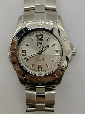 978058df79d7 TAG HEUER PROFESSIONAL Exclusive Stainless Steel Quartz Watch WN111C ...
