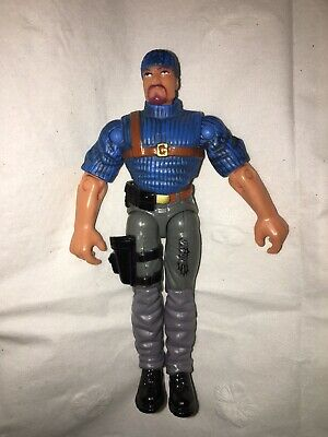 2002 Hasbro GI Joe Police Officer Poseable Figure In Box With Accessories
