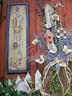Share A Little Kindness By Sandra Malone 1996 Garden Angels Bees Tole Paint Book