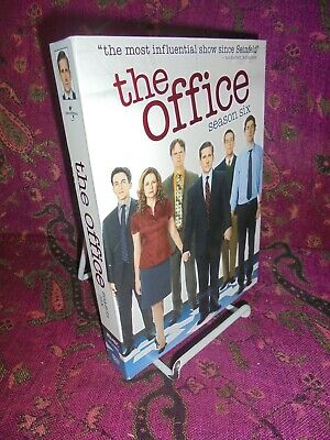5 DVDs-2010-THE OFFICE-THE COMPLETE SIXTH SEASON-TV SERIES