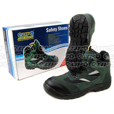 Safety Shoes Work Boots Size 8 Protection Garage - Centek CENTEK-FS330-SIZE8