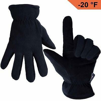 Thermal Gloves Winter Cold Lined Warm Grip Women Men 2 Weather Insulated skin