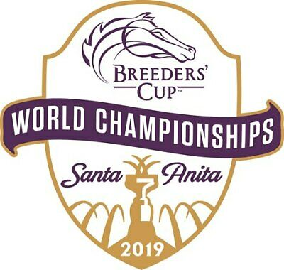 1-4 Tix Breeders Cup SATURDAY 11/2/19 Lower Grandstand Reserve Sect P Row 3 $140