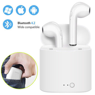 72f6d55b83d Wireless Bluetooth Headphones Earpods For Airpods Apple iPhone X & Charger  Case