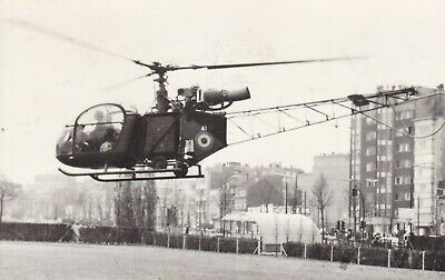 Org PK ABL:  Helicopter Alouette II 5A 3130 Belgisch Leger