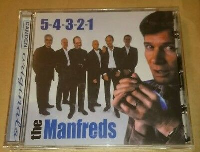 The Manfreds 5-4-3-2-1 Best Of Greatest Hits Collection CD Manfred Mann