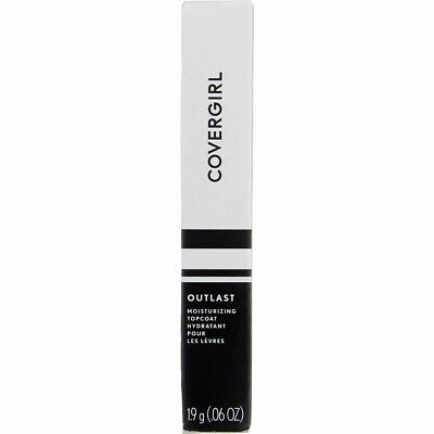 3 Pack CoverGirl Outlast All-Day Lip Color, Clear Topcoat 500, 0.07 oz