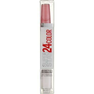 3 Pack Maybelline Super Stay 24 2-Step Liquid Lipstick, So Pearly Pink 110, 0...