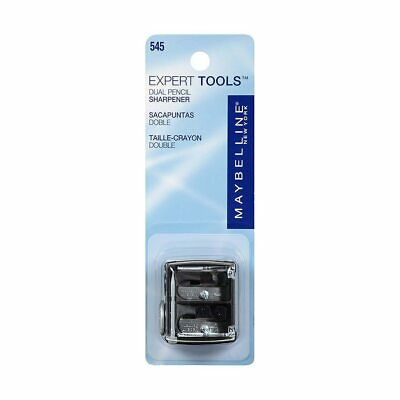 3 Pack Maybelline Expert Tools Dual Pencil Sharpener