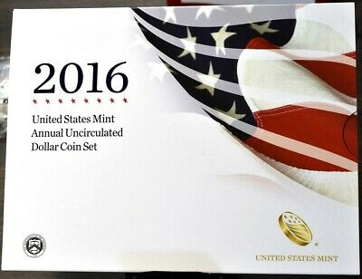 2016 Annual Uncirculated Dollar Coin Set - American Eagle Presidential Dollars