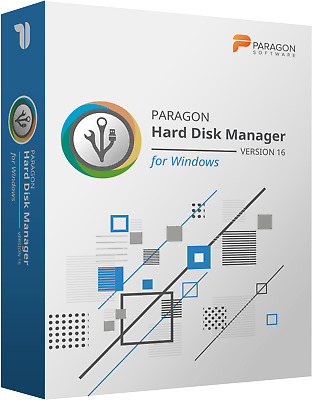 Paragon Hard Disk Manager 16.5 Advanced for (PC) ↪DIGITAL SOFTWARE↩
