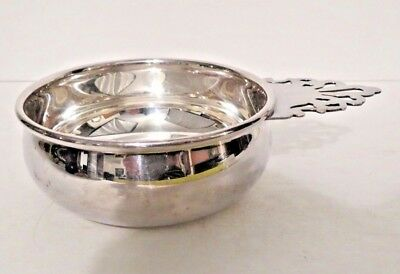 Fine Vintage Classic REED BARTON Silverplate Baby Porringer Bowl NO MONOS