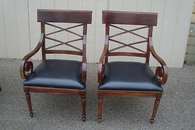 59535 Pair BAKER MILLING ROAD Furniture Armchair Chair s